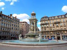 Lyon ~ Rhones-Alpes ~ France ~ Place des Jacobins