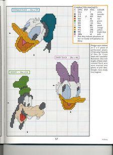 Donald, Daisy & Goofy