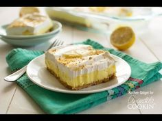 sugar free desserts recipes for diabetics, baking dessert recipes, ethiopian dessert recipes - Lemon cheesecake pudding dessert is a no-bake dream! Graham crackers, lemon pudding, cream cheese and whipped topping combine in this layered lemon dessert! Lemon Cheesecake Bars, No Bake Pumpkin Cheesecake, Cheesecake Pudding, Cheesecake Desserts, Lemon Desserts, Lemon Recipes, No Bake Desserts, Easy Desserts, Delicious Desserts