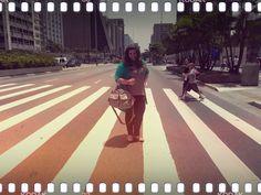 Look do dia: na Avenida Paulista