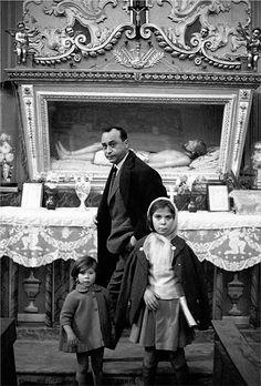 Ferdinando Scianna: Leonardo Sciascia, Racalmuto 1964