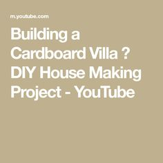 Building a Cardboard Villa 🏡 DIY House Making Project Plastic Grass, Plastic Flowers, Minecraft Challenges, Zen House, Home Design Diy, Engineering Projects, Wooden Textures, Paper Houses, Miniature Houses