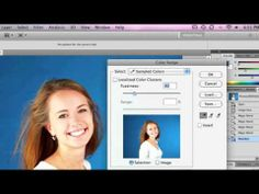 Chromakey in Adobe Photoshop - green screen software tutorial - YouTube