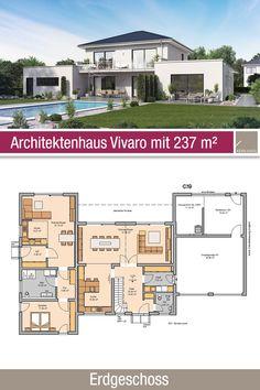 2 Generation House Plans, Townhouse Designs, Villa, New Farm, Architecture Plan, Floor Plans, Farmhouse, Construction, Mansions