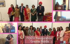 Glad to have the great opportunity to give 2 lectures in the August gathering of the inauguration ceremony of FOGSI (federation of obs and gynae society)  in Greater Noida on the 8th of February 2019. Dr. Anoop Gupta spoke on - breakthroughs in approach to improve poor endometrial response. Dr. Aastha Gupta spoke on - #Eggfreezing as the new arena for motherhood in the new era.