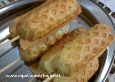 Receita de crepe suiço fácil no palito (salgado ou doce)