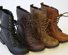 As fearless leader, I need a pair of combat boots to stop around in. And for kicking asses, of course.