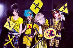 vkh-official: Gigamous - New Single Announced -. Visual Kei, Music Bands, Pretty Boys, Photo And Video, Beautiful, Rock, Handsome Guys, Cute Boys, Stone