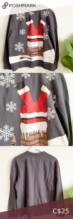 CHRISTMAS Santa Print Sweatshirt Cotton L Grey Red CHRISTMAS Santa Print Sweatshirt Cotton L Grey Red 🌱 Excellent preloved condition Tops Sweatshirts & Hoodies White Hoodie, Cropped Hoodie, Printed Sweatshirts, Hoodies, Fur Collar Jacket, Lululemon Hoodie, Hooded Dress, Lace Up Booties, White V Necks