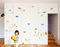Vinilo infantil Pajaritos de Bumoon. Birds Wallsticker de Bumoon. #birds #pajaros #bumoon #vinilo #wallsticker #decoracion #decoration #pared #wall #home #casa #kids #ninos @Bumoon