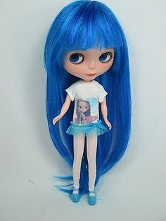 OOAK:Big Head Basaak Blybe Blythe clone CCE Doll Completed Custom modify face 27