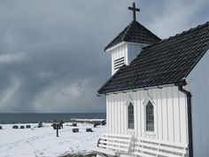 Varhaug gamle kyrkjegard III, via Flickr. Church Interior, Interior And Exterior, Western Coast, My Land, All Over The World, Barns, Cottages, Interiors, Architecture