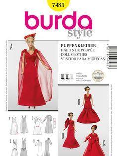 burda style Umschlag Cover Fertigschnitte