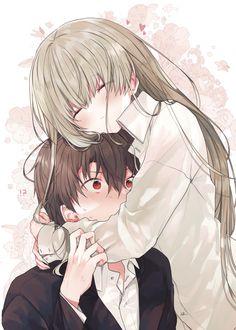 """和武はざの@白聖女⑥巻&ボイスコミック on Twitter: """"愛でる #白聖女と黒牧師… """" Cute Hug, Crisp Image, Anime Shows, Couple Pictures, Anime Love, Anime Couples, Cool Art, The Originals, Twitter"""