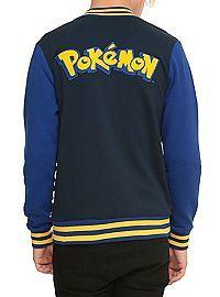 HOTTOPIC.COM - Pokemon Varsity Jacket