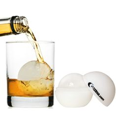 Ice Ball Mold by Cuzzina - You can find it here: http://www.amazon.com/Ice-Ball-Maker-Cocktail-Silicone/dp/B00CQ50PS4/ref=sr_1_34?ie=UTF8&qid=1433343291&sr=8-34&keywords=ice+ball+mold