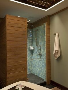 Tropical Bathroom Sauna Design, Pictures, Remodel, Decor and Ideas