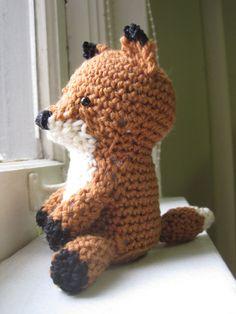 Mom. Crochet me this fox.