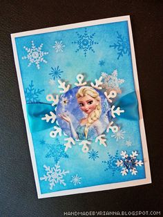 Hand Made By Rianna: Frozen Party: The Invitations