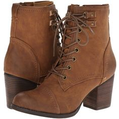 fbdd62e82b3c Madden Girl Women s Westmont Combat Boot ( 53) ❤ liked on Polyvore  featuring shoes