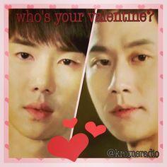 Chil Bong vs. Trash. Who would you choose as your valentine? #chilbong #reply1994 #kromevalentine #couples #valentine #vday #trash #jungwoo #yooyeonseok #love #kdrama #korean #date  @KromeRadio kromeradio.blogspot.com