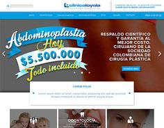 """Check out new work on my @Behance portfolio: """"Clinica Loyola Web design"""" http://be.net/gallery/32293531/Clinica-Loyola-Web-design"""