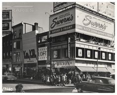 Central Jersey's Larget Dept. Store.  Swern's.  Broad & Front.. From Duke Digital Collections. Collection: R.C. Maxwell Company Outdoor Advertising. 10260.