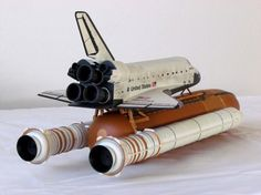 1/144 Revell Space Shuttle Stack - STS-133 - Discovery by Michael Scarola
