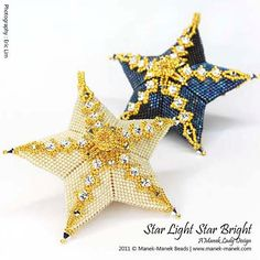 eTUTORIAL Star Light Star Bright by maneklady on Etsy