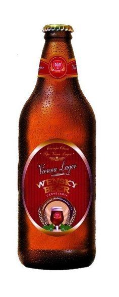 Cerveja Wensky Vienna Lager, estilo Vienna Lager, produzida por Wensky Beer, Brasil. 5% ABV de álcool.