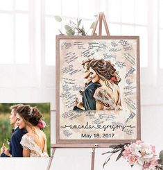 Good Photographs wedding guest book alternative canvas personalized wedding Tips when buying special wedding presents for newlyweds, specific gifts that may be stored for a long ti Winter Wedding Favors, Rustic Wedding Favors, Unique Wedding Favors, Wedding Decorations, Unique Weddings, Guestbook For Wedding, Trendy Wedding, Wedding Presents For Newlyweds, Wedding Gifts For Couples