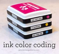 Video: Ink Organization + Storage + DISCOUNT CODES + GIVEAWAY | Jennifer McGuire Ink