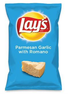 Wouldn't Parmesan Garlic with Romano be yummy as a chip? Lay's Do Us A Flavor is back, and the search is on for the yummiest flavor idea. Create a flavor, choose a chip and you could win $1 million! https://www.dousaflavor.com See Rules.