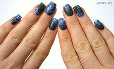 Galaxy nail wraps.