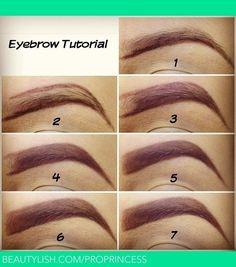 Easy eyebrow tutorial- soon I will have the eyebrows I've always dreamed of