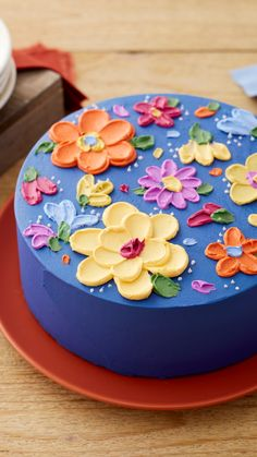 Cake Decorating Frosting, Cake Decorating Videos, Birthday Cake Decorating, Cake Decorating Techniques, Cookie Decorating, Floral Cake, Holiday Cakes, Cupcake Cakes, Cupcakes