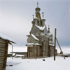 SOMEWHERE I WOULD LIKE TO LIVE: wooden churches