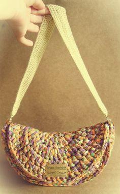 Aprendiz de Crocheteiras: Bolsa Verão - Minhas Criações