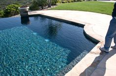 This Photo was uploaded by My Pool, Swimming Pools Backyard, Swimming Pool Designs, Pool Landscaping, Waterline Pool Tile, Pebble Tec Pool, Pool Plaster, Pool Finishes, Pool Colors