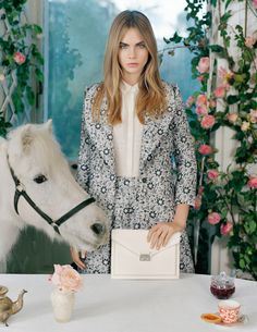 Cara Delevingne in Spring Summer 2014 | Mulberry