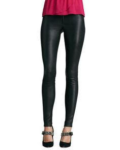 Leather+Leggings+by+Alice+++Olivia+at+Neiman+Marcus.
