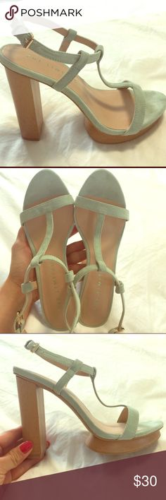 The Limited New- Mint color The Limited Shoes Platforms