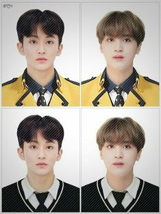 Aww k chuli 💖💗💚💙💛💜❤💕 Pass Photo, Id Photo, Mark Lee, Watermelon Guy, Kpop Couples, Jaehyun Nct, Boyfriend Material, K Idols, Nct Dream