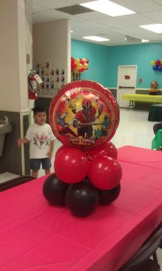 Power Ranger Birthday Party!