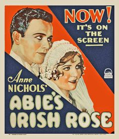 "Abie's Irish Rose (1928) Charles ""Buddy"" Rogers, Nancy Carroll"