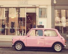 vintage mini in pink