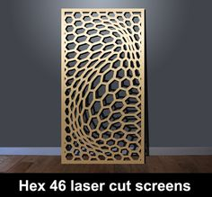 Laser cut patterns for screens and panels I Custom Designs Laser Cut Screens, Laser Cut Panels, Laser Cut Metal, Laser Cutting, Mirror Panel Wall, Metal Wall Panel, Metal Panels, Stair Panels, Art Deco Wall Art