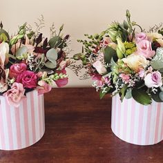 """Pink striped fabulous #capetown #capetownflorist #cavendishsquare #fabulousflowers"""