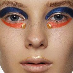 Tantalum Issue 14   Color Splash Fantastic   Makeup: Vera Shevi   Photographer: Marina Morozova and Artem Serdechny   Model: Ksenia Darienkova