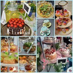 allerlei heerlijke taartjes voor high tea